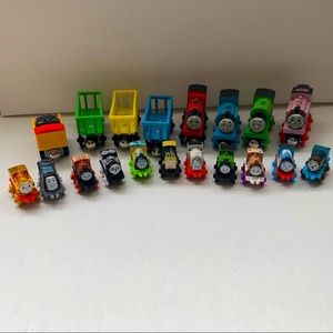 19 Pc Thomas and Friends Toy Lot